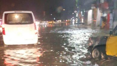 """صورة أهالي الإسكندرية """"احنا غرقنا حرفيا"""""""
