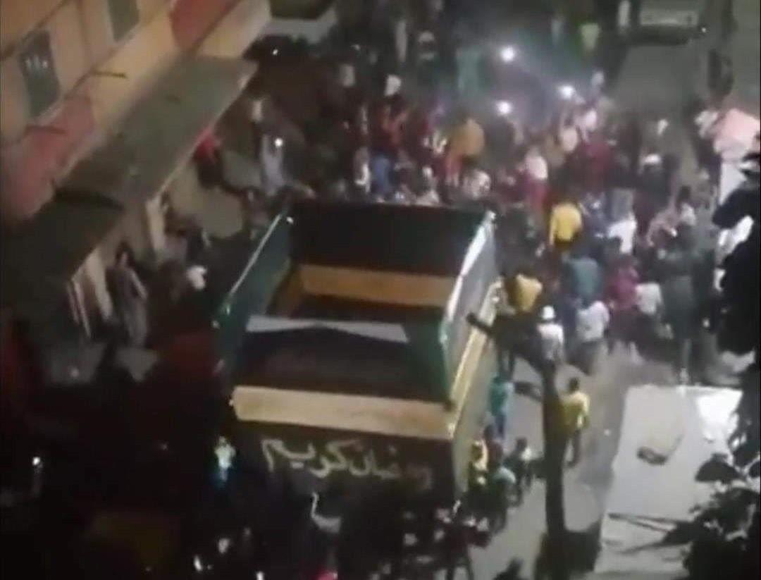 صورة هاشتاج #اسكندرية يتصدر تويتر بعد زفة الكعبة