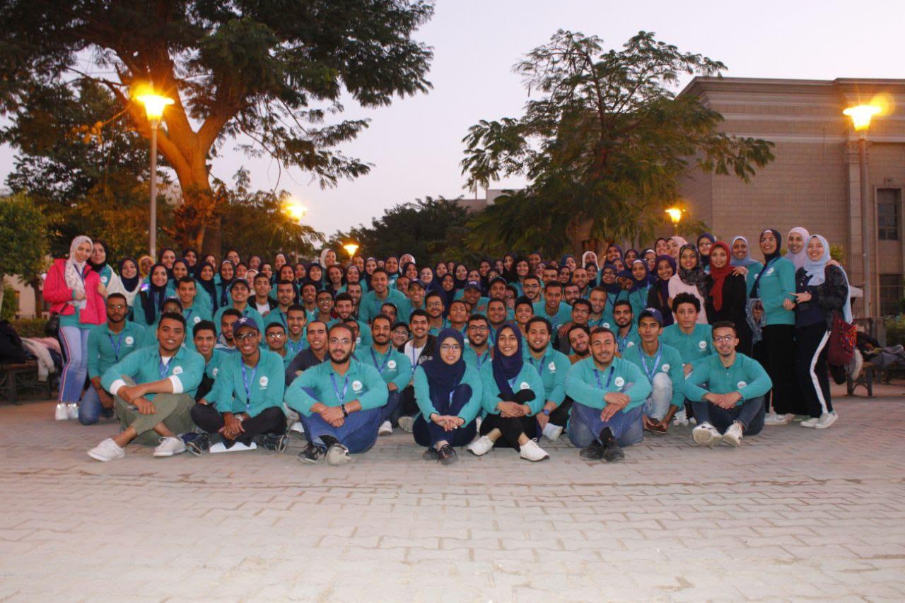 صورة خطوات إيجابية من النشاط الطلابي اور فيجن