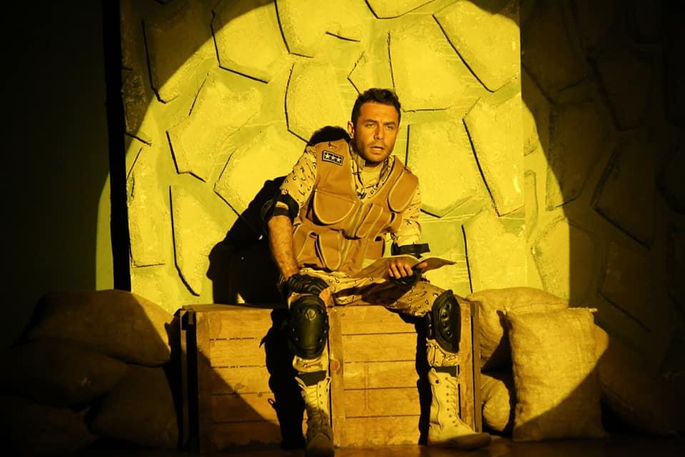 صورة مسرحية امر تكليف تعرض على اليوتيوب الرسمية لوزارة الثقافة