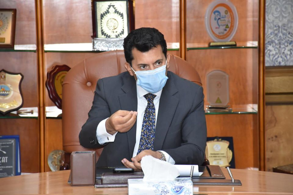 صورة وزير الرياضة: ملتزمون بعودة النشاط الرياضي ١٥ يونيو المقبل