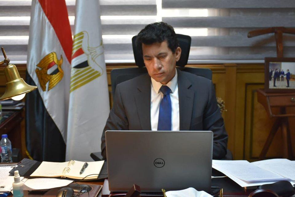 صورة وزير الرياضة يعلن عن انطلاقة جديدة لصندوق دعم الرياضة المصرية