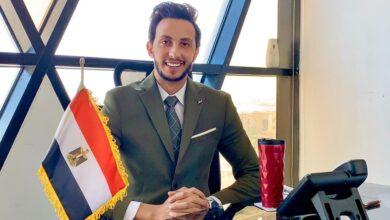 """صورة أحمد الزقازيقى يبدأ أولى تجاربه الإعلامية فى برنامج """"بين السما والأرض"""""""