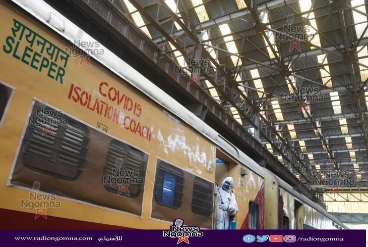 القطارات فى الهند