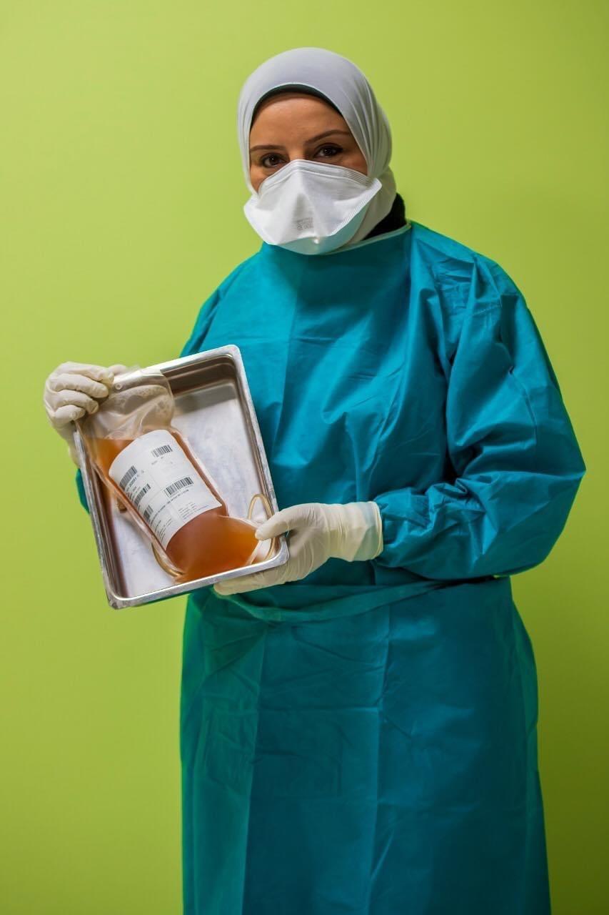 صورة وزيرة الصحة: نجاح تجربة حقن المصابين بفيروس كورونا من الحالات الحرجة ببلازما المتعافيين وزيادة نسب الشفاء