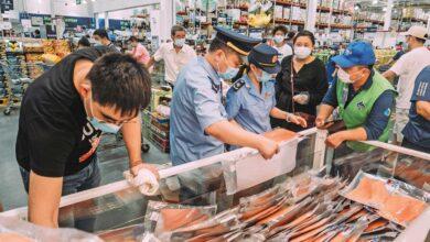صورة مفأجاة جديدة الصين تنشر فيروس جديد بسبب سمك السلمون والتونة