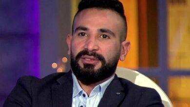 Photo of شاهد .. أحمد سعد يحتفل بعيد ميلاد خطيبته الجديدة