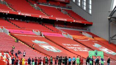 صورة مباراة ليفربول ضد أستون فيلا