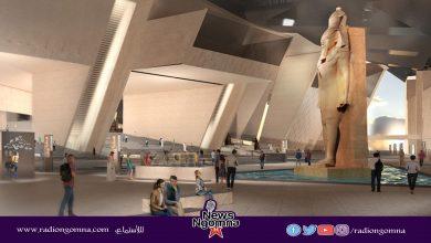 صورة وسط إجراءات أمنية مشددة الدرج العظيم يصل المتحف المصري الكبير