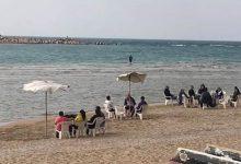صورة هدوء تام بشواطئ الإسكندرية و 50% هى نسبة الإشغالات بالفنادق