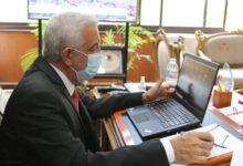 صورة أونلاين.. مبارك يلتقي العمداء جامعة المنوفية لمتابعة آخر المستجدات