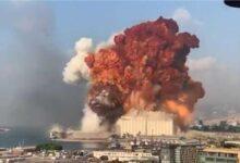 """صورة أضرار في """" بيت الوسط """" بسبب انفجار بيروت"""