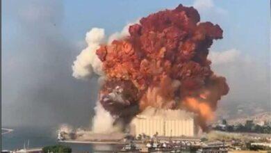 """Photo of أضرار في """" بيت الوسط """" بسبب انفجار بيروت"""
