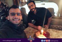 Photo of تامر حسني يزور مصطفي حفناوي بالمستشفي