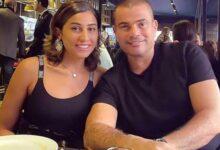 صورة ويكيبيديا يعلن رسميا زواج عمرو دياب ودينا الشربيني