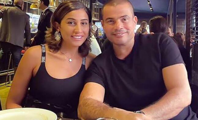 عمرو دياب ودينا الشربيني Et بالعربي